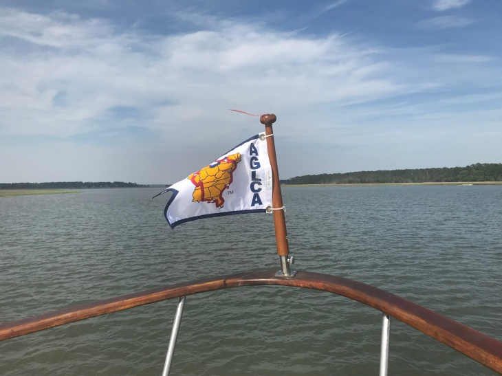 The Looper Flag American GreatLoop Cruising Association