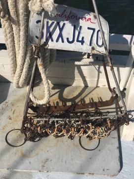 an oyster bed dredger
