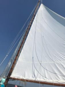 the mainsail