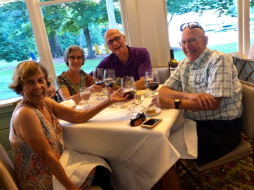 Dinner at old hotel