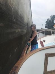 Sharon at the Locks