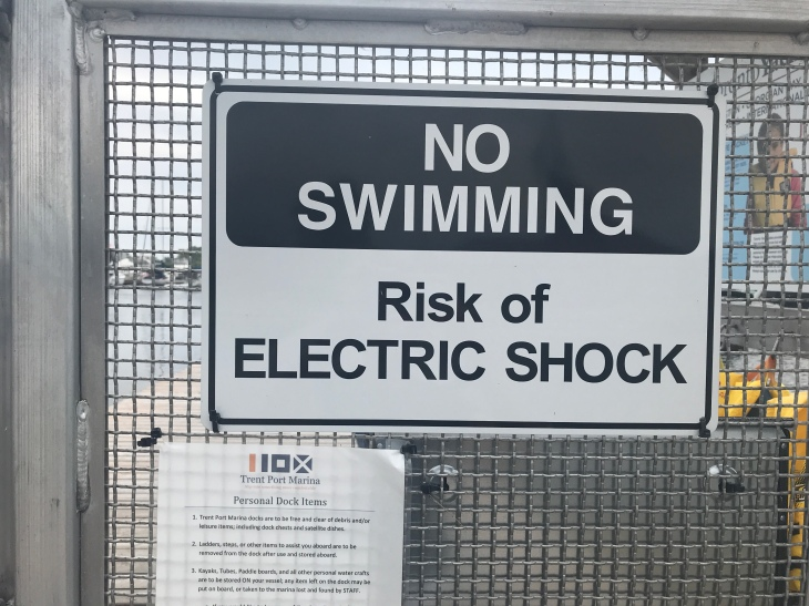 Sign should be on every marina