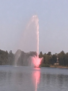 Fountain in Marina