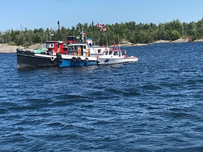 rafting tugs