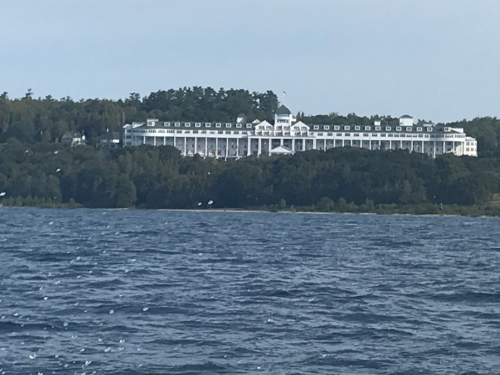 Grand Hotel from the ferry