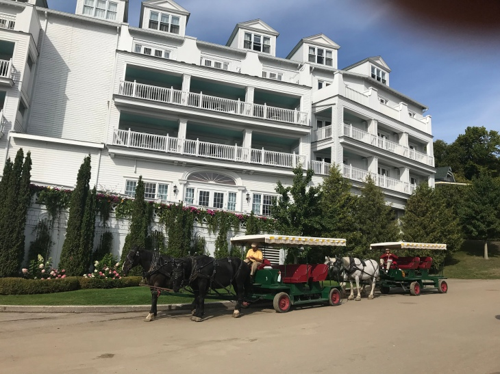 side view of The GrandHotel