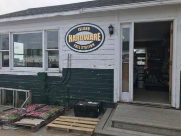 Hardware store on Mackinaw