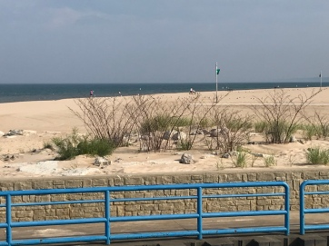 sandy beach Lake Michigan