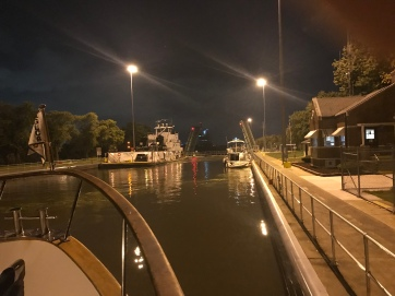 lock at night