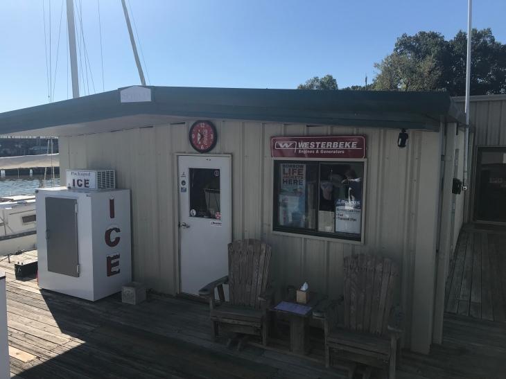 Pebble Isle fuel dock