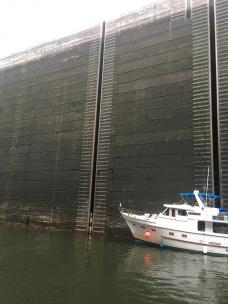 bottom of Wilson Lock
